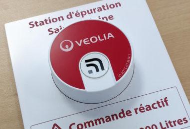 Le bouton connecté : solution IoT implantée chez Veolia